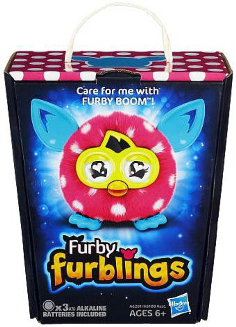 Furby Furblings Polka Dots Figure [Pink & White]
