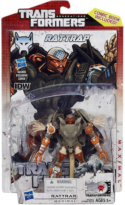 Transformers Generations 30th Anniversary Deluxe IDW Rattrap Deluxe Action Figure