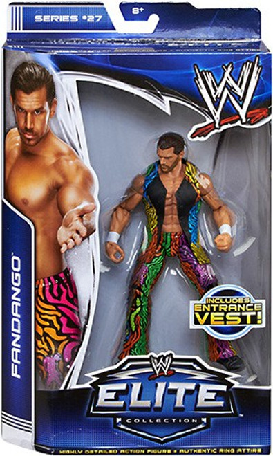 WWE Wrestling Elite Series 27 Fandango Action Figure [Entrance Vest]