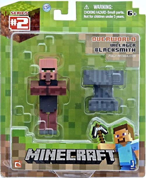 Minecraft Overworld Villager Blacksmith Action Figure