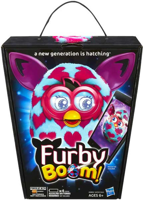 Furby Boom! Pink Hearts Figure