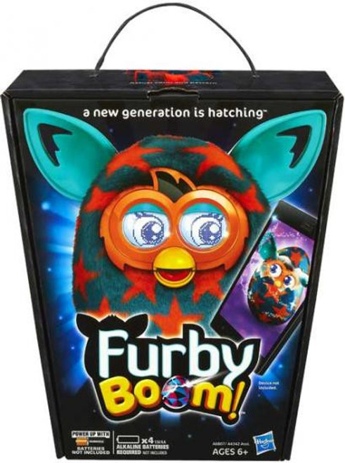 Furby Boom! Orange Stars Figure