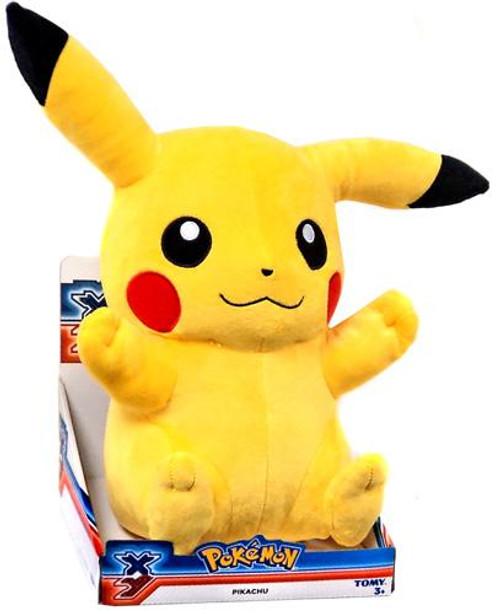 Pokemon XY 18 Inch Pikachu Plush [Sitting Closed Mouth]