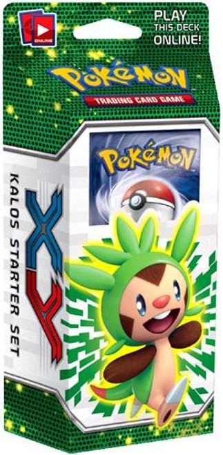 Pokemon X & Y Kalos Basic Theme Deck [Chespin] [Sealed]