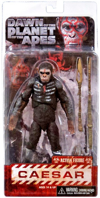 NECA Dawn of the Planet of the Apes Series 1 Caesar Action Figure