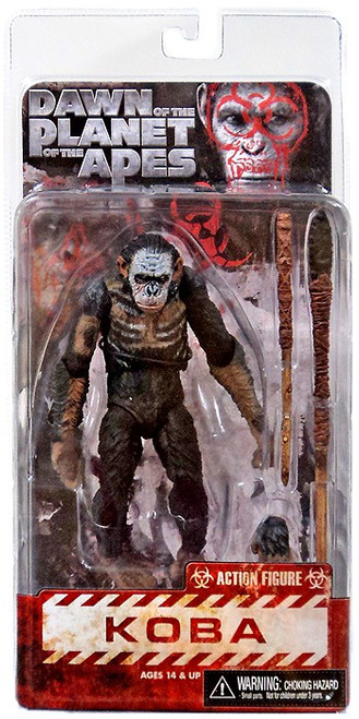 NECA Dawn of the Planet of the Apes Series 1 Koba Action Figure