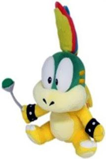 Super Mario Lemmy Koopa 8-Inch Plush