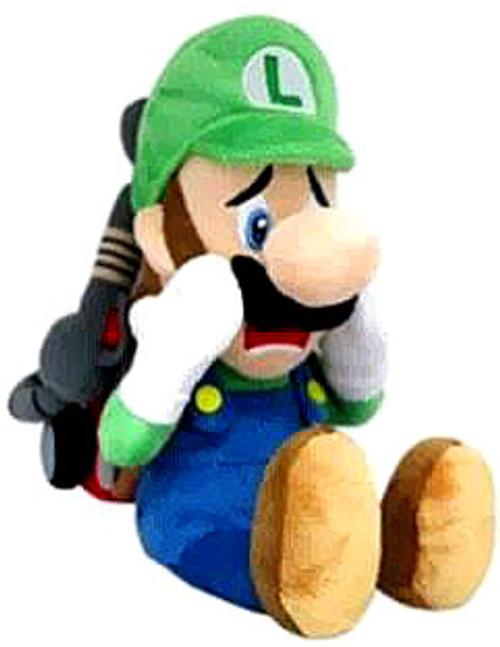 Super Mario Luigi 7-Inch Plush [Strobe]
