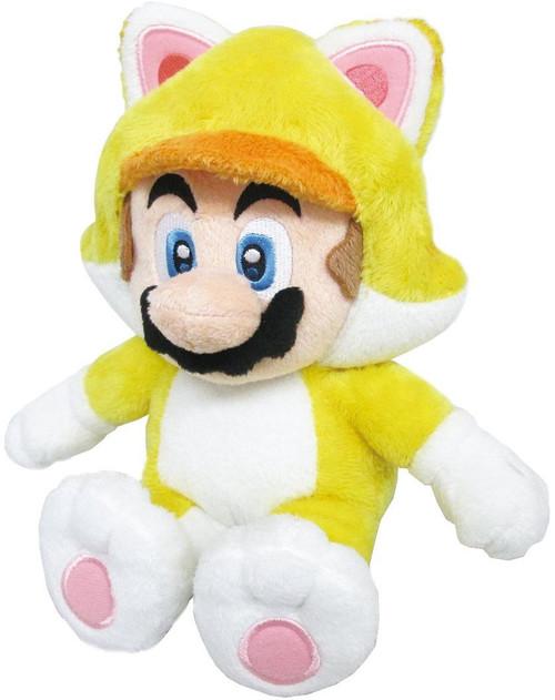 Super Mario 3D World Mario 10-Inch Plush [Cat]