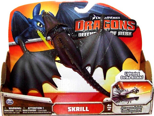How to Train Your Dragon Defenders of Berk Skrill Action Figure