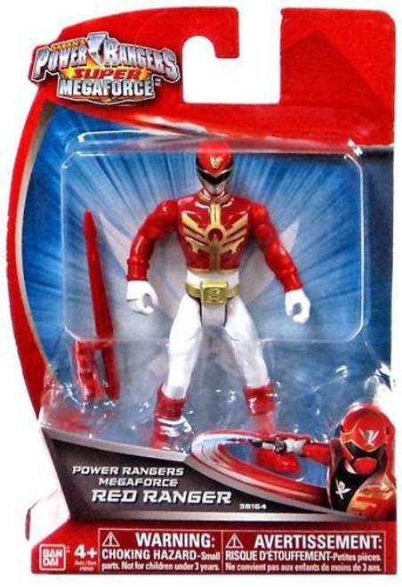 Super Megaforce Power Rangers Megaforce Red Ranger Action Figure