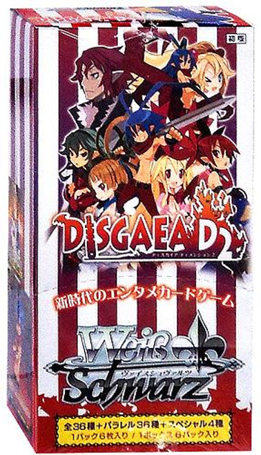 Weiss Schwarz Disgaea D2 Extra (Japanese) Booster Box [6 Packs]