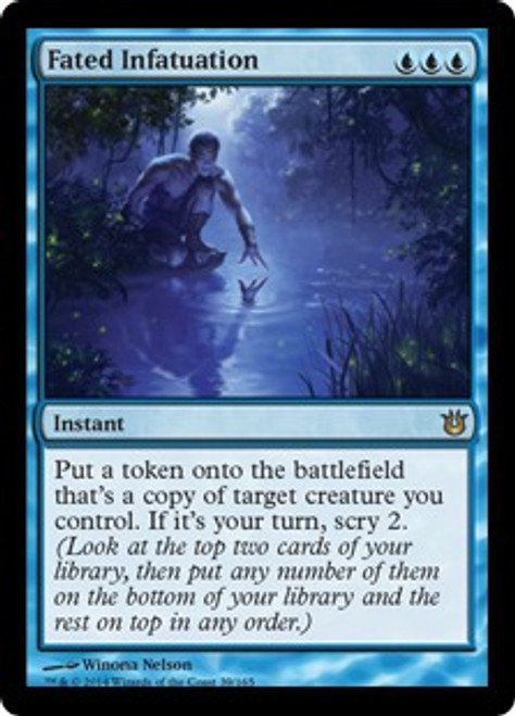 MtG Born of the Gods Rare Fated Infatuation #39