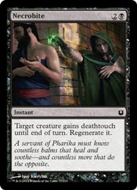 MtG Born of the Gods Common Necrobite #77