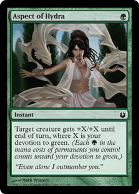 MtG Born of the Gods Common Aspect of Hydra #117