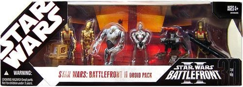 Star Wars Expanded Universe Boxed Sets 2007 Battlefront II Droid Pack Exclusive Action Figure Set
