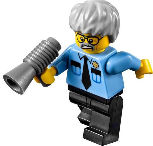 The LEGO Movie Loose Pa Cop Minifigure
