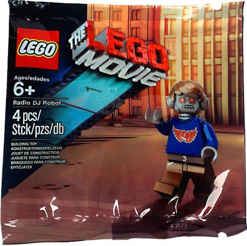 The LEGO Movie Radio DJ Robot Exclusive Mini Set #5002203 [Bagged]