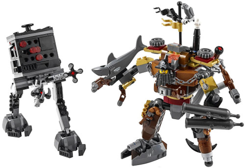 The LEGO Movie Metalbeard vs. Micro Manager Loose Set [Loose]