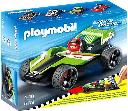 Playmobil Sports & Action Turbo Racer Set #5174