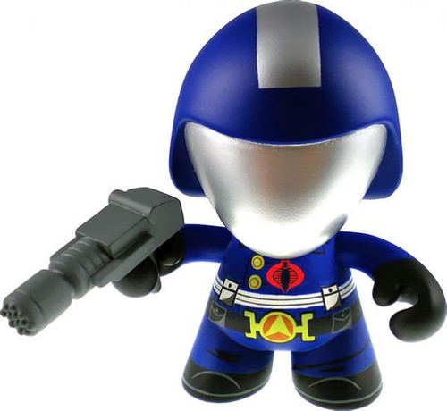 GI Joe Series 1 Cobra Commander 3-Inch Vinyl Figure [Battle Helmet Loose]