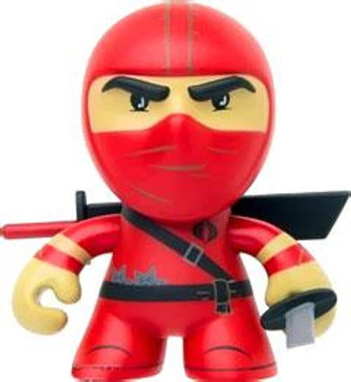 GI Joe Series 1 Red Ninja 3-Inch Vinyl Figure [Loose]