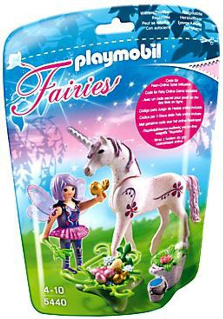 Playmobil Fairies Food Fairy with Morning Dew Unicorn Set #5440