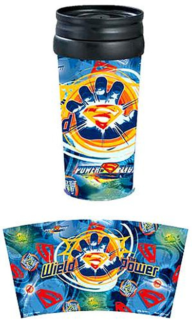 Superman Returns Wield The Power Travel Tumbler