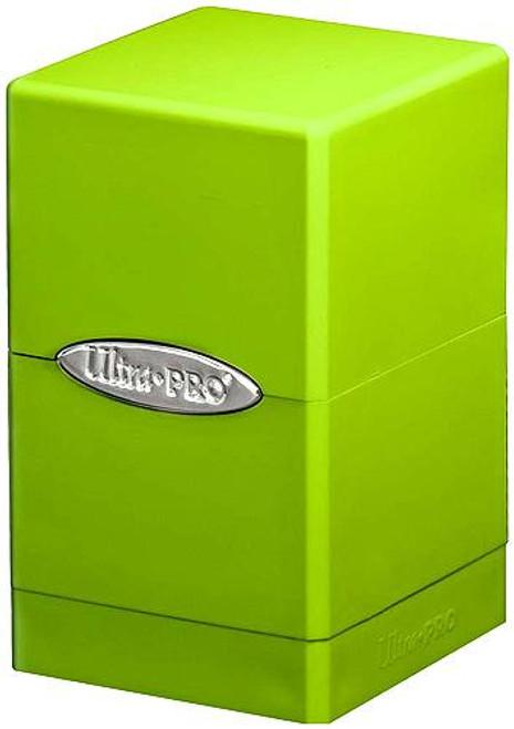 Ultra Pro Card Supplies Satin Tower Lime Green Deck Box