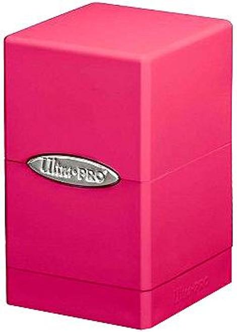 Ultra Pro Card Supplies Satin Tower Pink Deck Box
