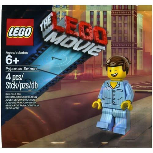 The LEGO Movie Pyjamas Emmet Exclusive Mini Set #5002045 [Bagged]