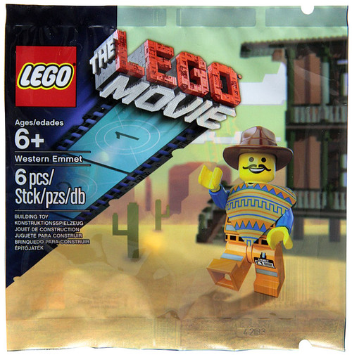 The LEGO Movie Western Emmet Exclusive Mini Set #5002204 [Bagged]