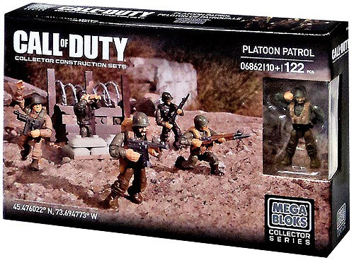 Mega Bloks Call of Duty Platoon Patrol Exclusive Set #06862
