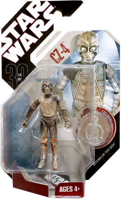 Star Wars Return of the Jedi 30th Anniversary 2007 Wave 4 CZ-4 Action Figure #26 [Jabba Palace Droid]