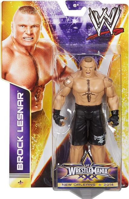 WWE Wrestling Wrestlemania 30 Brock Lesnar Action Figure