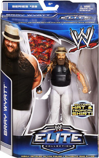 WWE Wrestling Elite Series 28 Bray Wyatt Action Figure [Hat & Tropical Shirt]