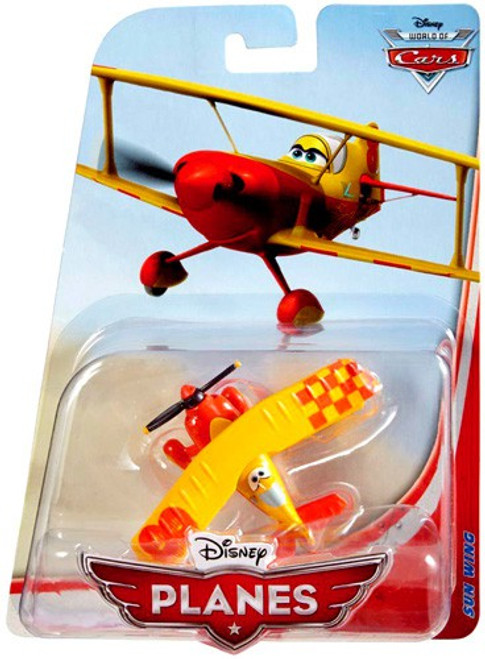 Disney Planes Sun Wing Diecast Plane