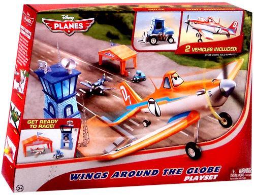 Disney Planes Wings Around the Globe Playset
