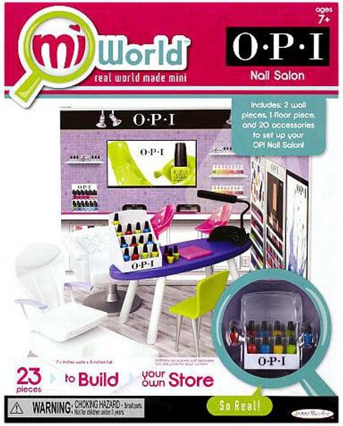 MiWorld OPI Nail Salon Playset