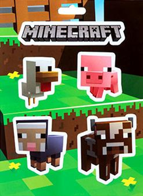 Minecraft Baby Animals Sticker Pack