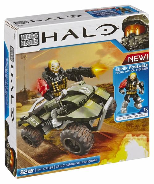 Mega Bloks Halo UNSC All-Terrain Mongoose Set #97339