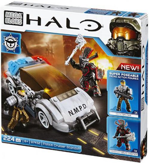 Mega Bloks Halo NMPD Police Standoff Set #97452