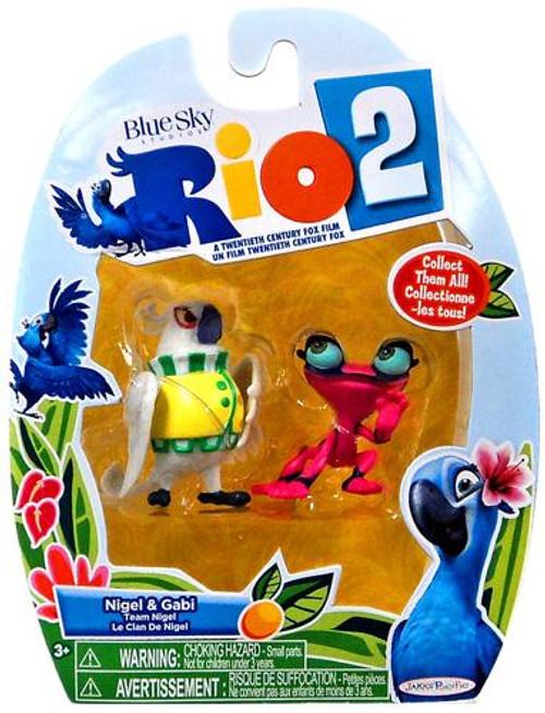 Rio 2 Nigel & Gabi Mini Figure 2-Pack
