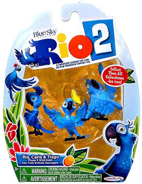 Rio 2 Bia, Carla & Tiago Mini Figure 3-Pack