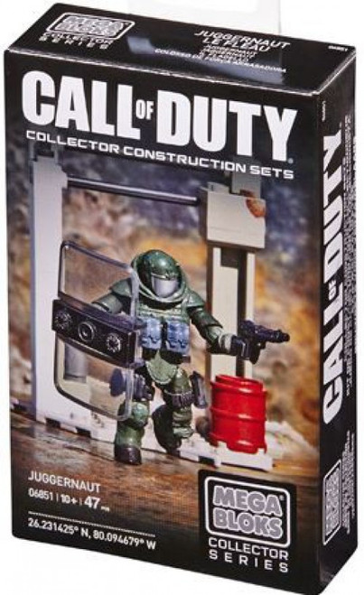 Mega Bloks Call of Duty Juggernaut Set #06851
