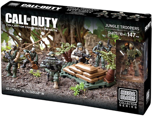 Mega Bloks Call of Duty Jungle Troopers Set #06875