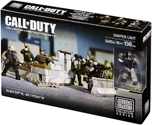 Mega Bloks Call of Duty Sniper Unit Set #06854