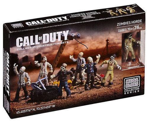 Mega Bloks Call of Duty Zombies Horde Set #06881