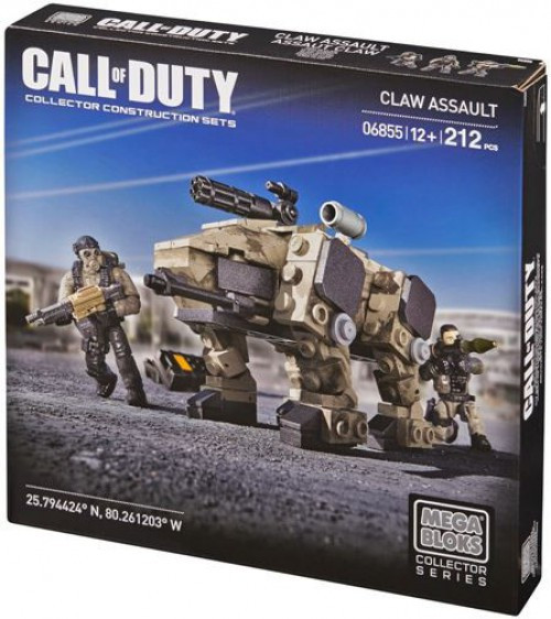 Mega Bloks Call of Duty CLAW Assault Set #06855