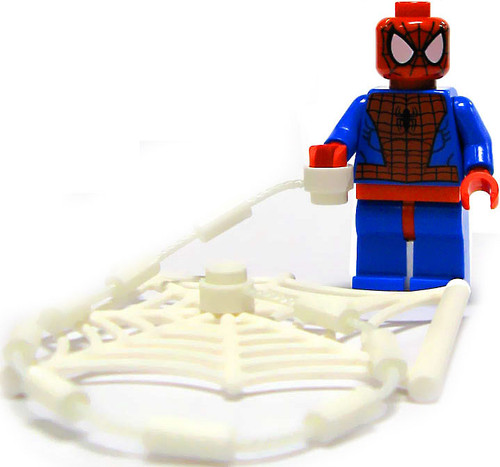 LEGO Marvel Super Heroes Loose Spider-Man Minifigure [With Webs Loose]